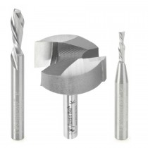 ABS201 - Axiom 3pc CNC Starter Bit Set for Iconic 1/4 shank by Amana Tool
